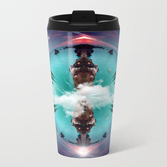 It's a small world Metal Travel Mug