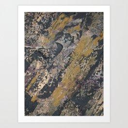 Abstract Fluid Movement Art Print