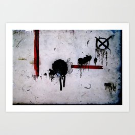 Dirtypple Art Print