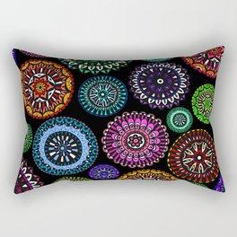 Doodle Discs Rectangular Pillow