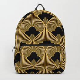 Art Deco Havana Exotic Pattern Backpack