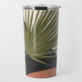 Tropical Leaf- Abstract Art 5 Travel Mug