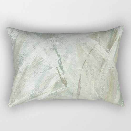 abstract brush-soothe the mood Rectangular Pillow