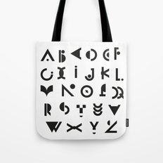 Alphabet Tote Bag