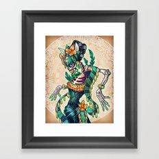 Dance of the Dead Framed Art Print