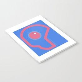 Futuristic Cyborg Logo 6 Notebook