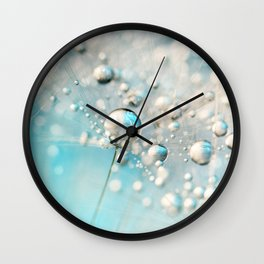 Sparkle in Blue Wall Clock