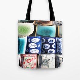 Ceramic Tableware Tote Bag