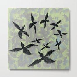 Circling Birds   Metal Print