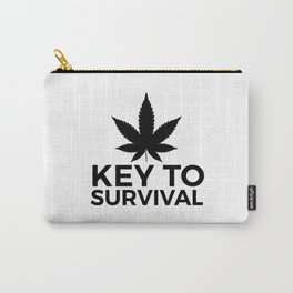 Weed Cannabis leaf gift idea 420 Carry-All Pouch