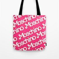 moschino Tote Bags featuring Moschino Everything by RickyRicardo787