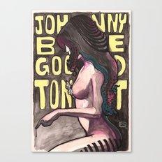 Johnny be Good Tonight Canvas Print