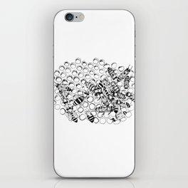 Teeming bees iPhone Skin