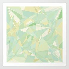 Yellow Jewel Art Print