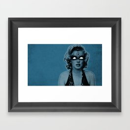Marylin Manhattan Framed Art Print