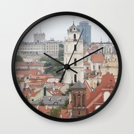 Cathedral Wall Clock