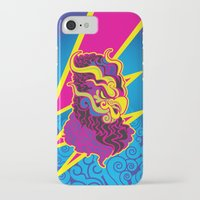 storm iPhone & iPod Cases featuring Storm by HanYong