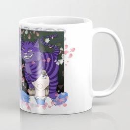 Chesire Cat and Alice Coffee Mug