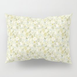 Daisies and Dragonflies (small scale) Pillow Sham