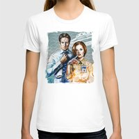 mulder T-shirts featuring Mulder and Scully by Tatiana Anor
