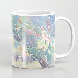 Landscape by Henri-Edmond Cross 1904, French Coffee Mug