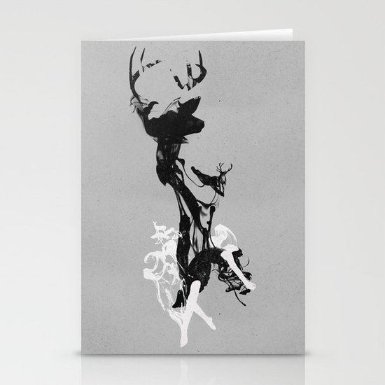 Last time I was a Deer Stationery Cards