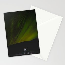 Aurora Borealis. || Northern Light in Iceland. || Travel Shots. Stationery Cards