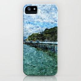 Llandudno Pier in Summer iPhone Case