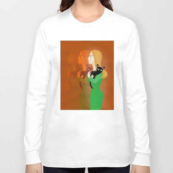 Life with the Cat Long Sleeve T-shirt
