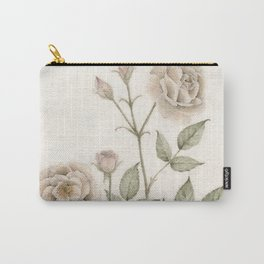 Old Roses Carry-All Pouch