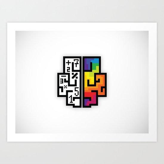 Twinoo logo Art Print