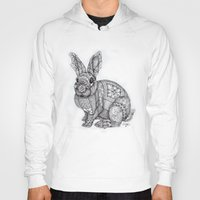 "blush Hoodies featuring ""Blush Bunny"" by Cindy Lysonski - Creative Daydreamzzzz"