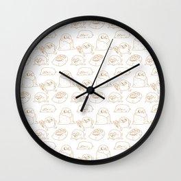 Jake Pattern Wall Clock