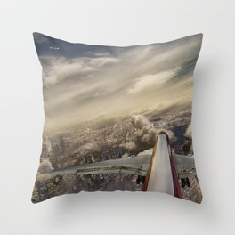 Kennedy tower Iberia 6253 Throw Pillow