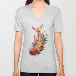 Fish Splash Unisex V-Neck
