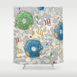 Camo Sweets Shower Curtain