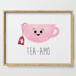 Tea-amo Serving Tray