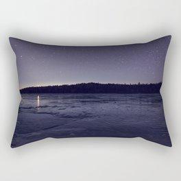 Zodiacal Light on the Lake Rectangular Pillow