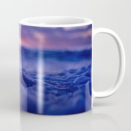Bubbly Water At Beautiful Sundown Coffee Mug