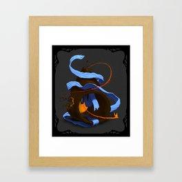 Tiny Firebird Framed Art Print