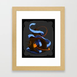 Tiny Firebird Framed Art Print