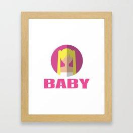 BABY SPICE Framed Art Print