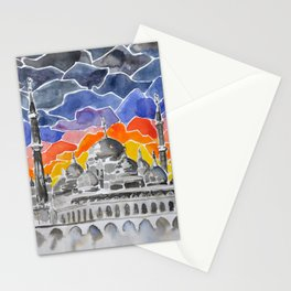 Masjid Kristal Mosque, Kuala Terengganu, Malaysia Stationery Cards