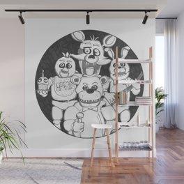 Fazbear and Friends Wall Mural