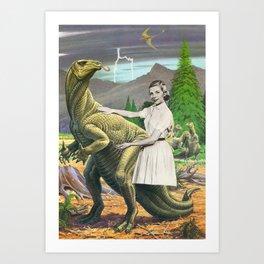 IguanoDonJuan Art Print