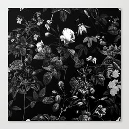 DARK FLOWER Canvas Print