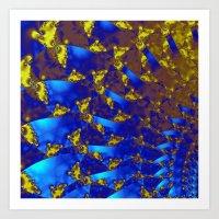 fractal Art Prints featuring Fractal. by Assiyam
