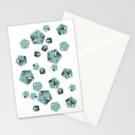 Pentagons of May 25 Stationery Cards