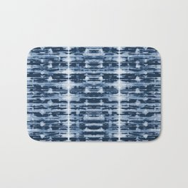 X-Ray Shibori Stripes Bath Mat
