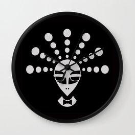 Alien men in black Wall Clock